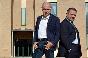 Mauro Cassini ed Italo Ercolani