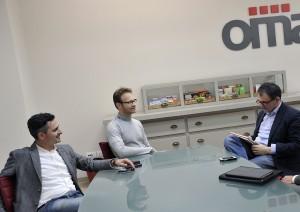 Davide Santi e Roberto Filippucci Omag