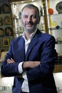 Massimo Capriotti della gioielleria Capriotti