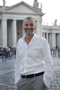 Massimo Capriotti in Piazza San Pietro