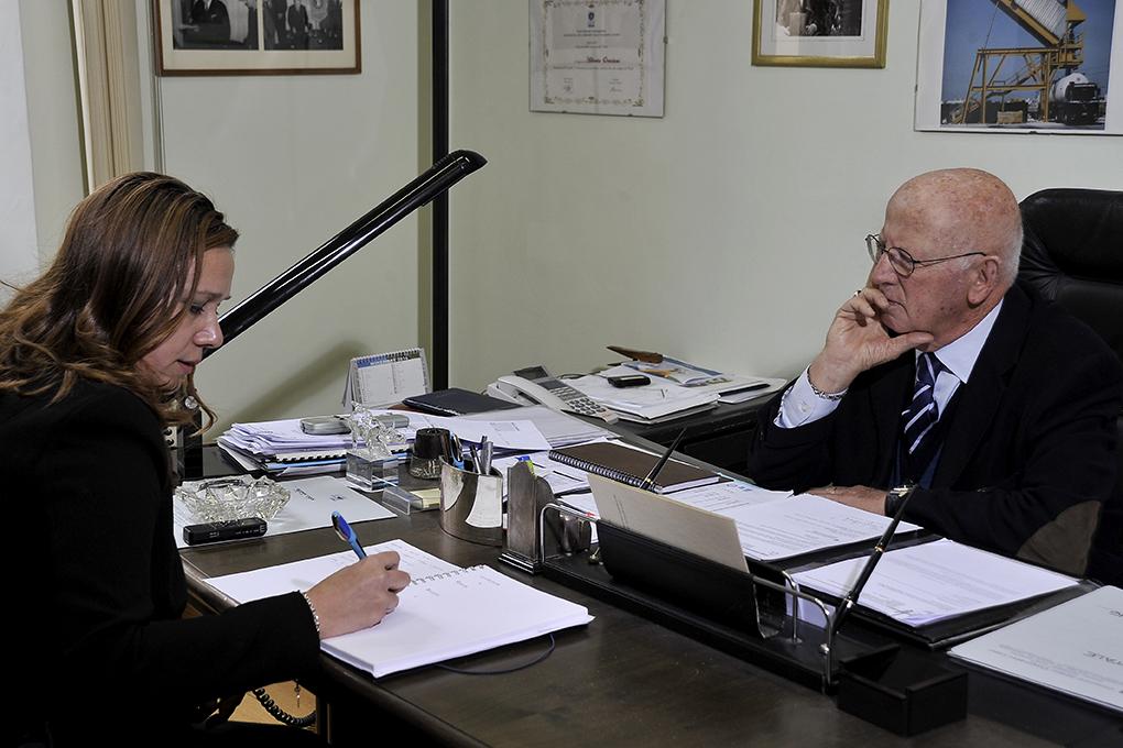 """Conoscenza del """"lavoro"""" e rispetto dei lavoratori: così Alberto Ortolani da quasi 60 anni regge il timone di Consorzio Labor."""