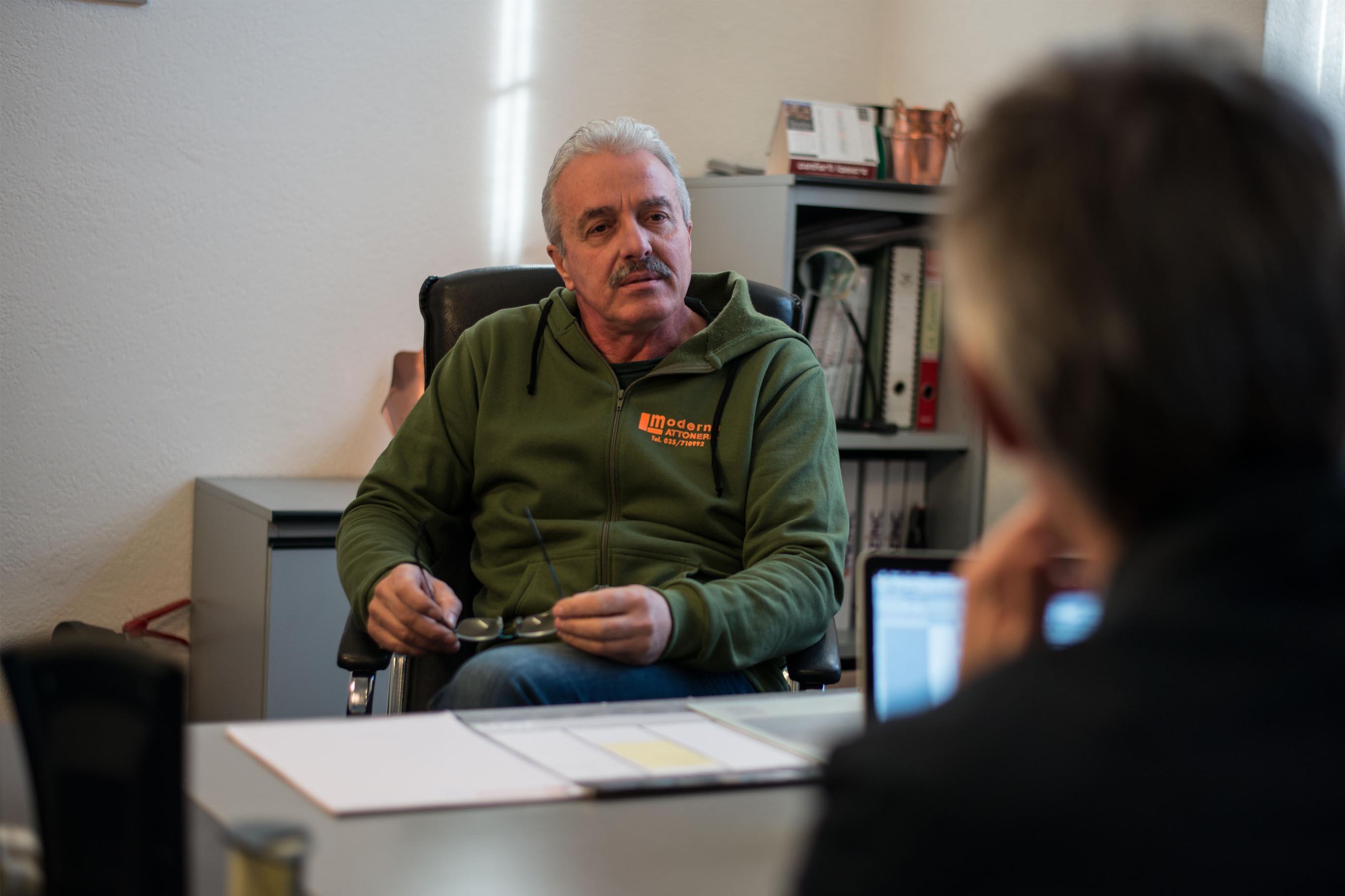 Giordano Bonfanti: «In lattoneria la differenza la fa sempre il servizio alle aziende»