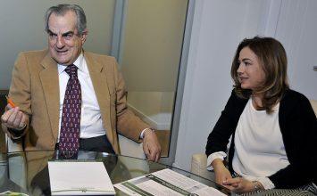 """Anselmo e Simona Santolini """"Vendere case è il lavoro più bello del mondo""""."""