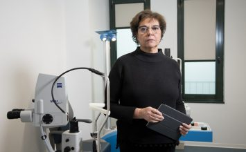 "Anna Altomare, Blue Eye: ""Eye surgery brings together medical specialisation and state-of-the-art equipment"""