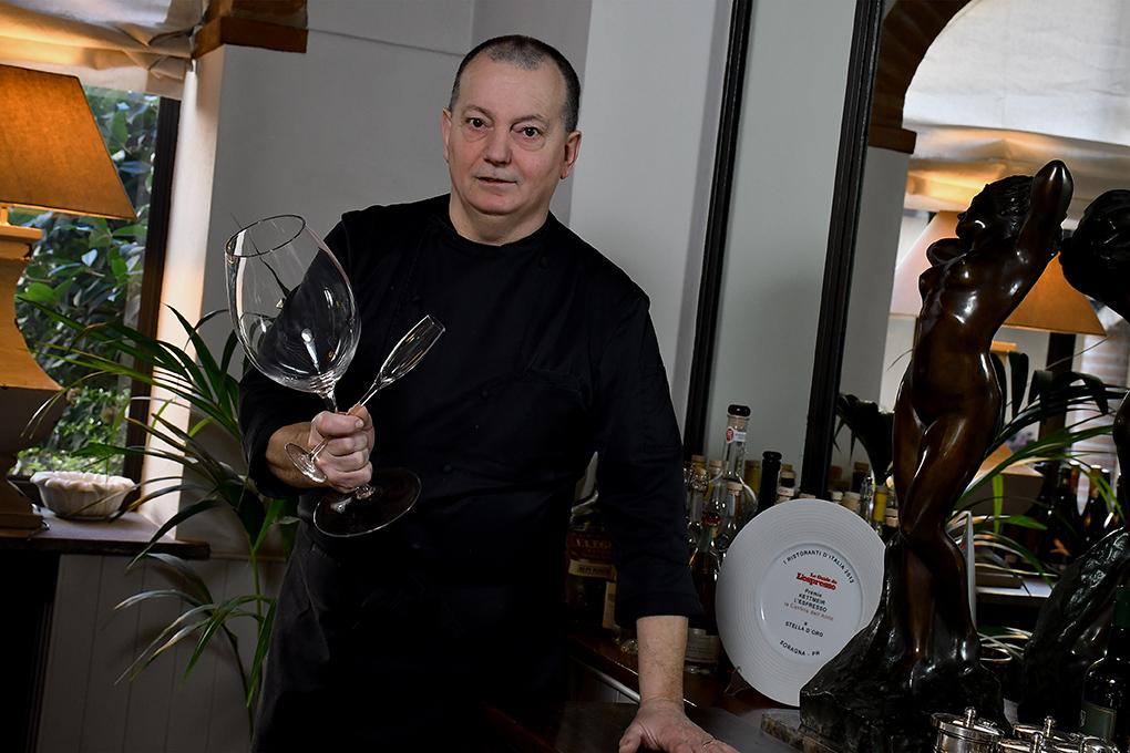 Marco Dallabona in sala