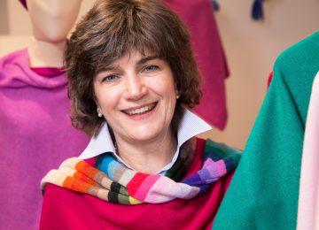 Cenzia Beretta di Arte in maglia: «Il cashmere non è una moda di élite ma uno stile di vita alla portata di tutti»