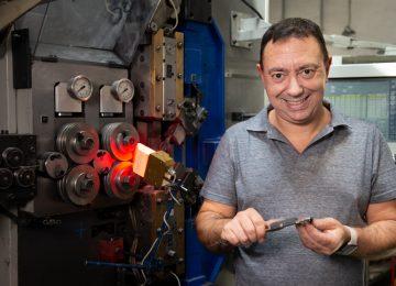 Mauro Scassa del Mollificio Scassa: «Flessibilità progettuale e produzione just in time per fidelizzare il cliente»