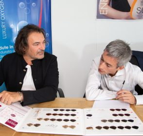 "Carlo Livraghi, The Sense: ""Natural products for strong and healthy hair. That's how you get the perfect look"""