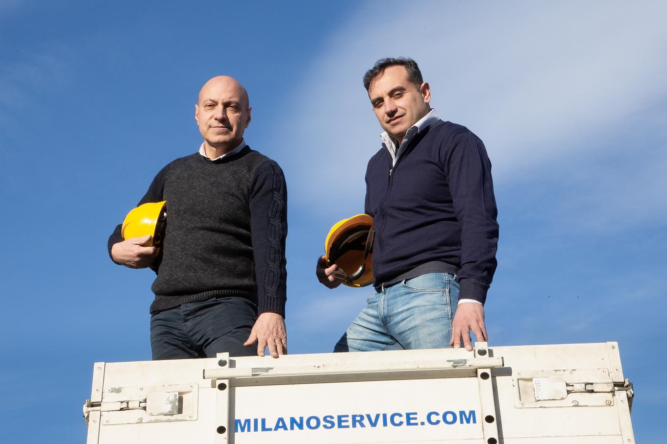 Vincenzo e Lugi Vicchiariello - Milano Service Lombardia